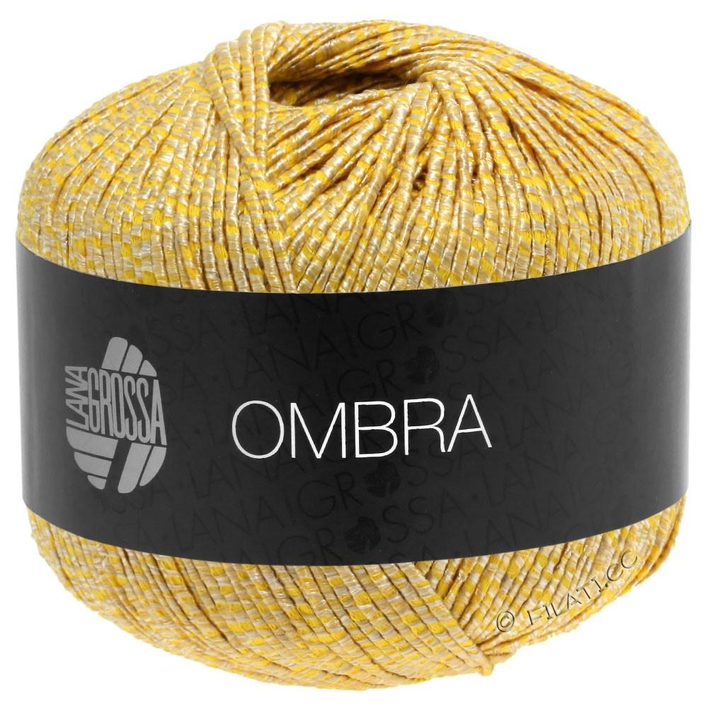 Lana Grossa OMBRA   08-бежевый/жёлтый