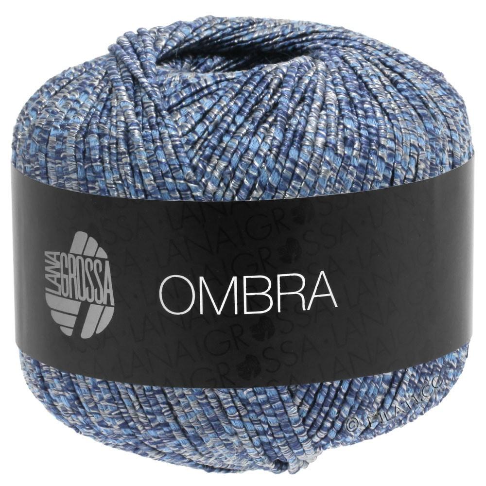 Lana Grossa OMBRA   09-серо-синий/джинс