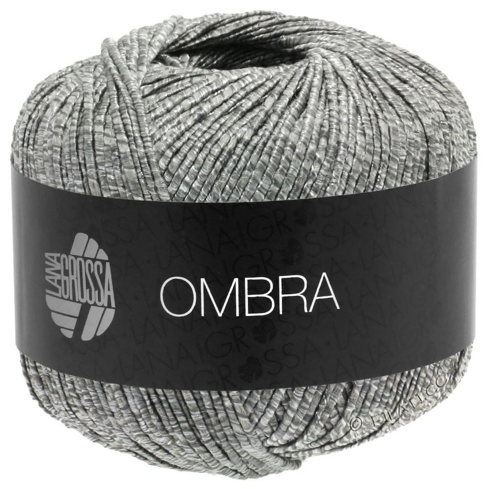 Lana Grossa OMBRA   12-серый/натуральный