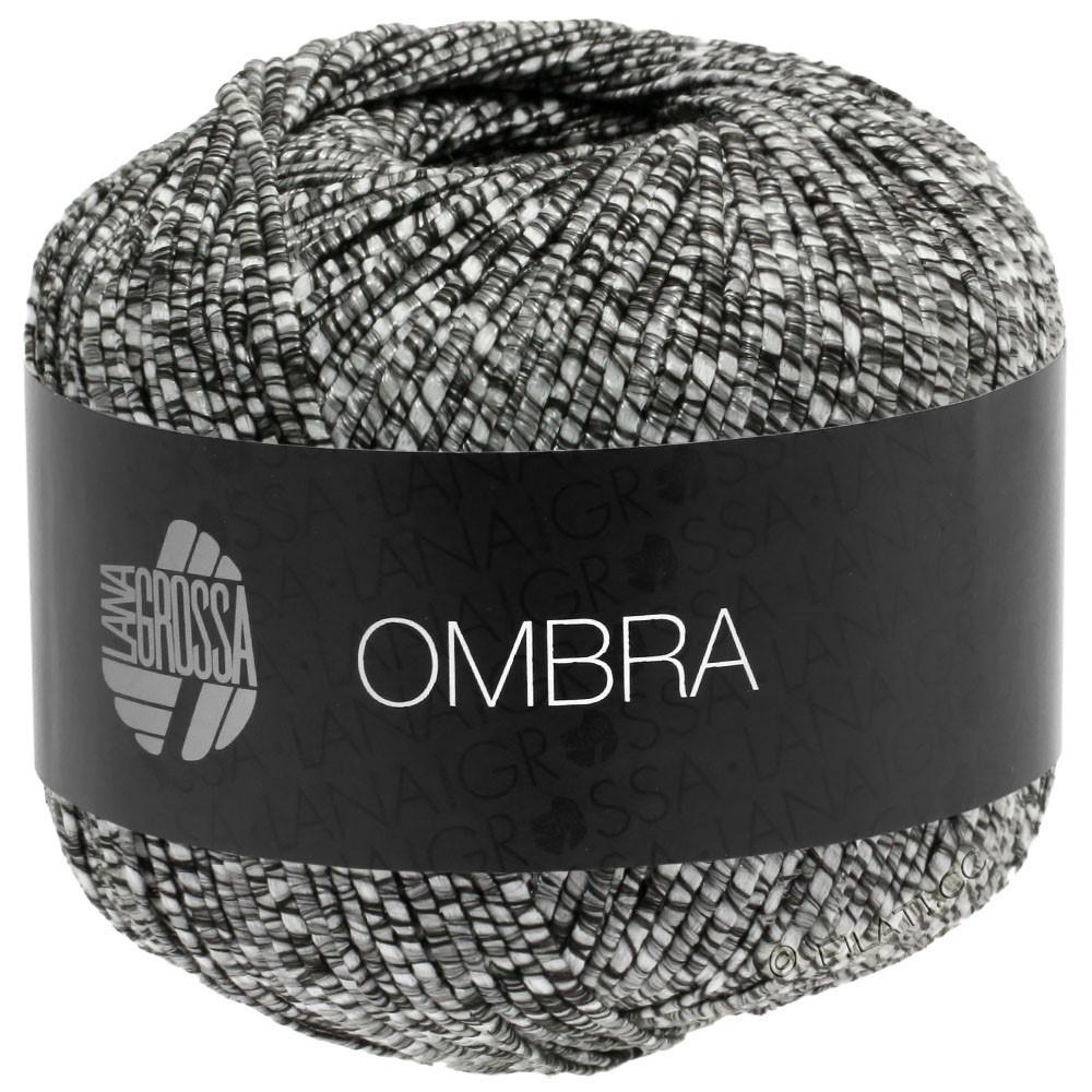 Lana Grossa OMBRA   13-чёрно-коричневый/натуральный