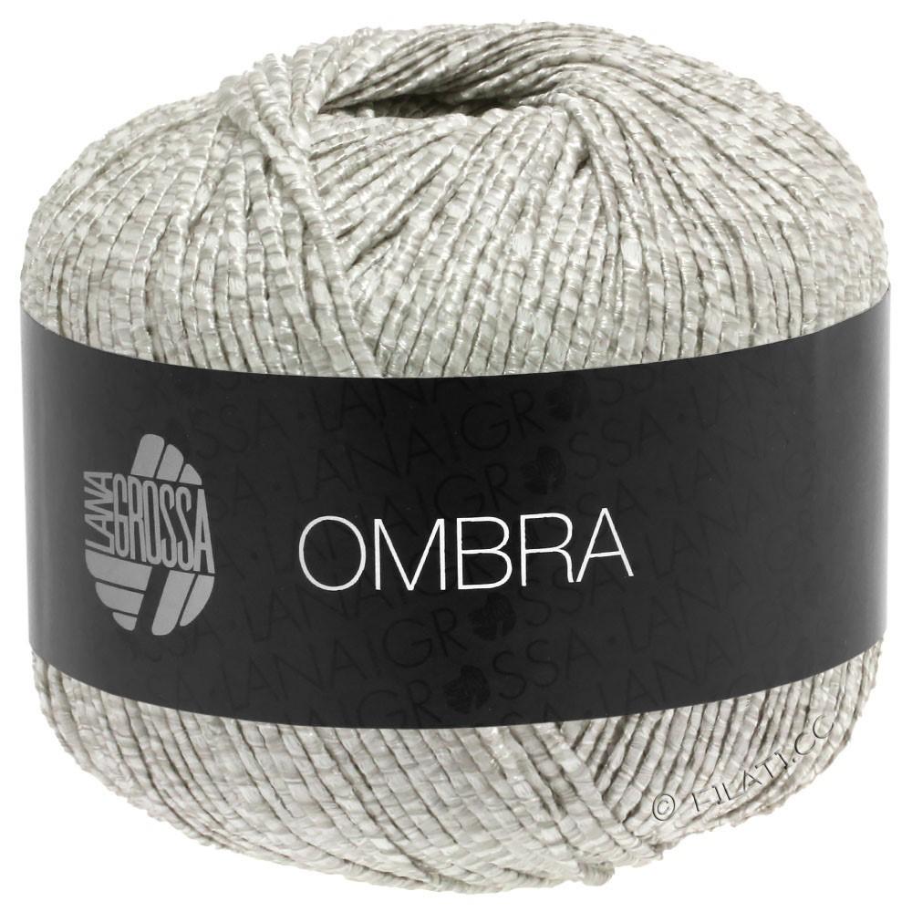 Lana Grossa OMBRA   14-серебристо-серый/белый