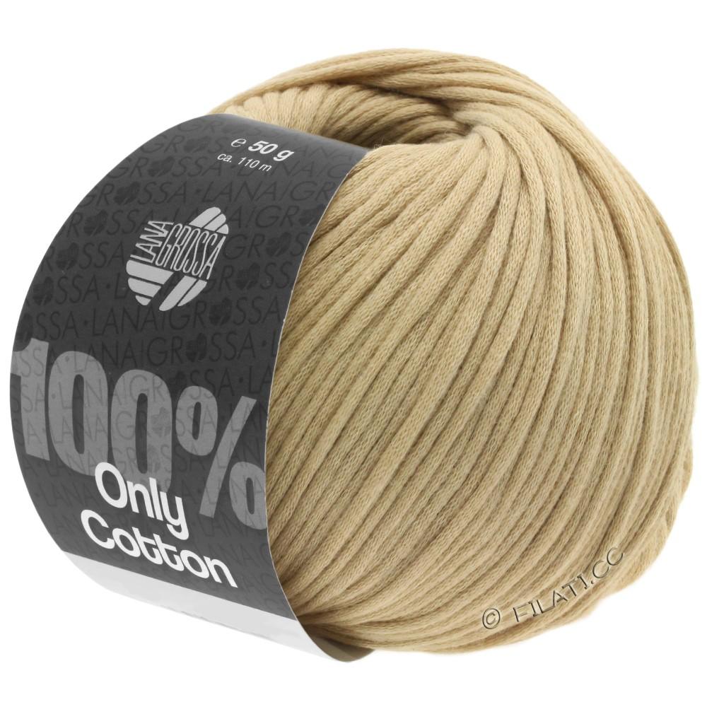 Lana Grossa ONLY COTTON | 03-легко коричневый