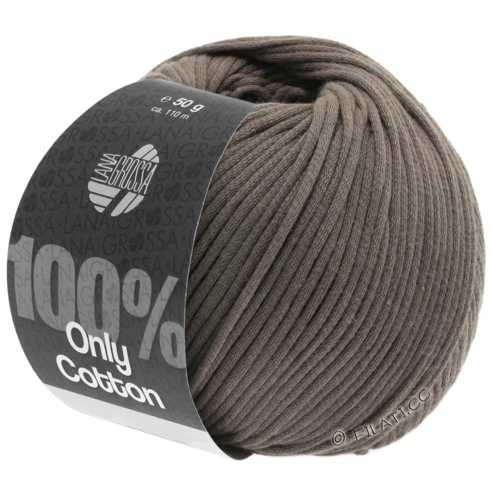 Lana Grossa ONLY COTTON | 04-серо-коричневый
