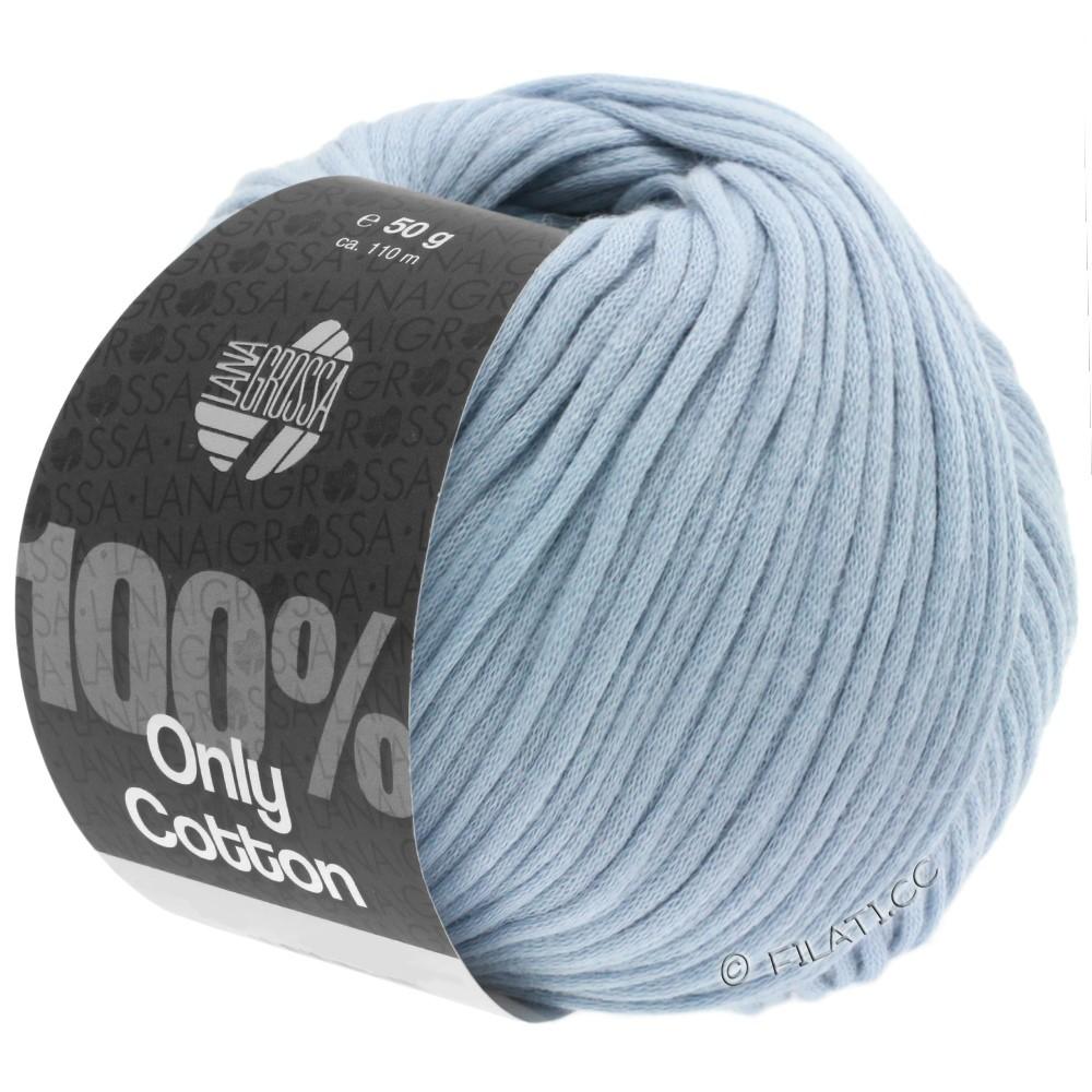 Lana Grossa ONLY COTTON | 07-светло-голубой