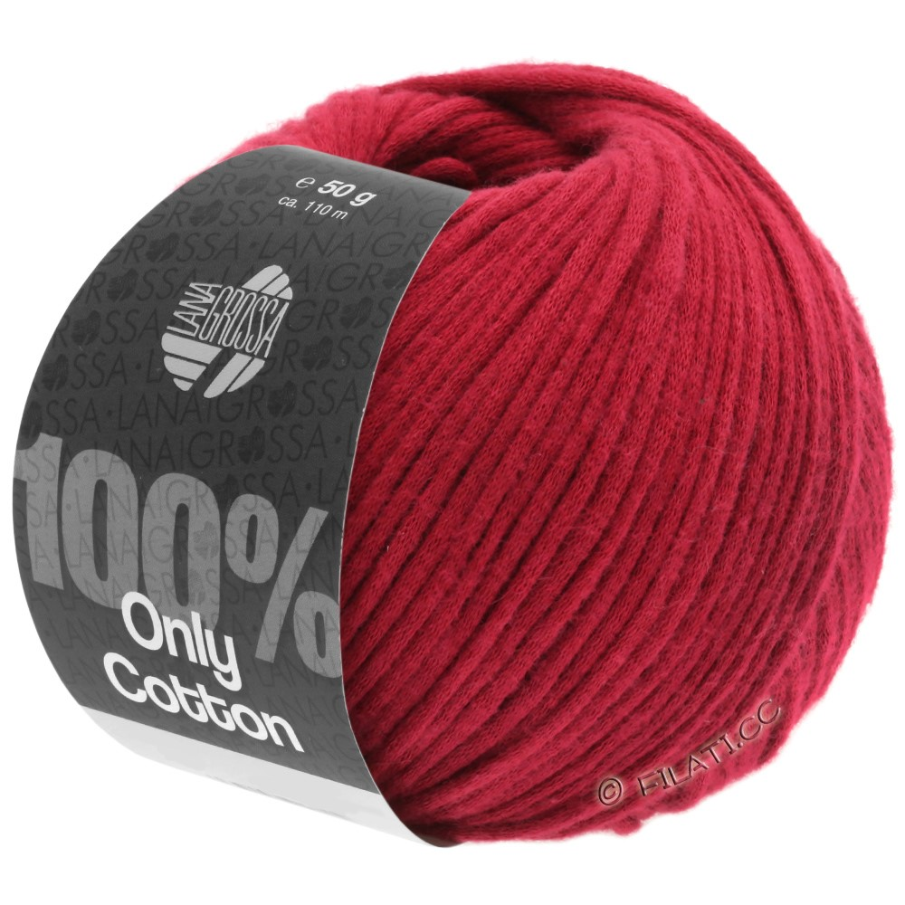 Lana Grossa ONLY COTTON | 08-красный