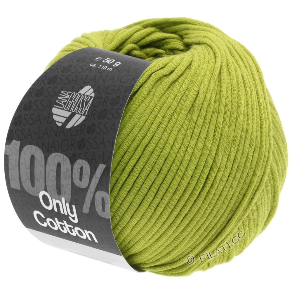 Lana Grossa ONLY COTTON | 10-жёлто-зеленый