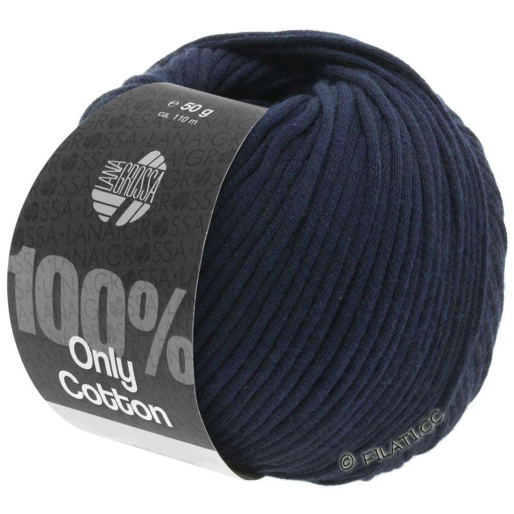 Lana Grossa ONLY COTTON | 11-тёмно-синий