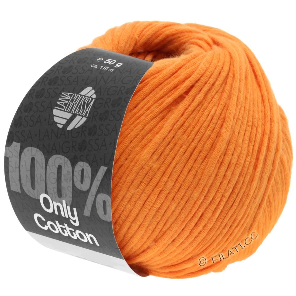 Lana Grossa ONLY COTTON | 16-оранжевый