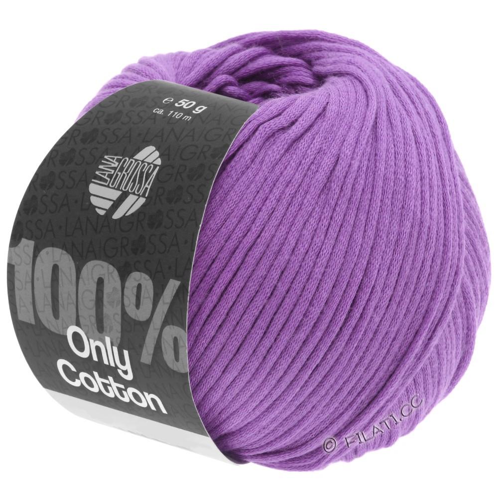 Lana Grossa ONLY COTTON | 19-фиолетовый