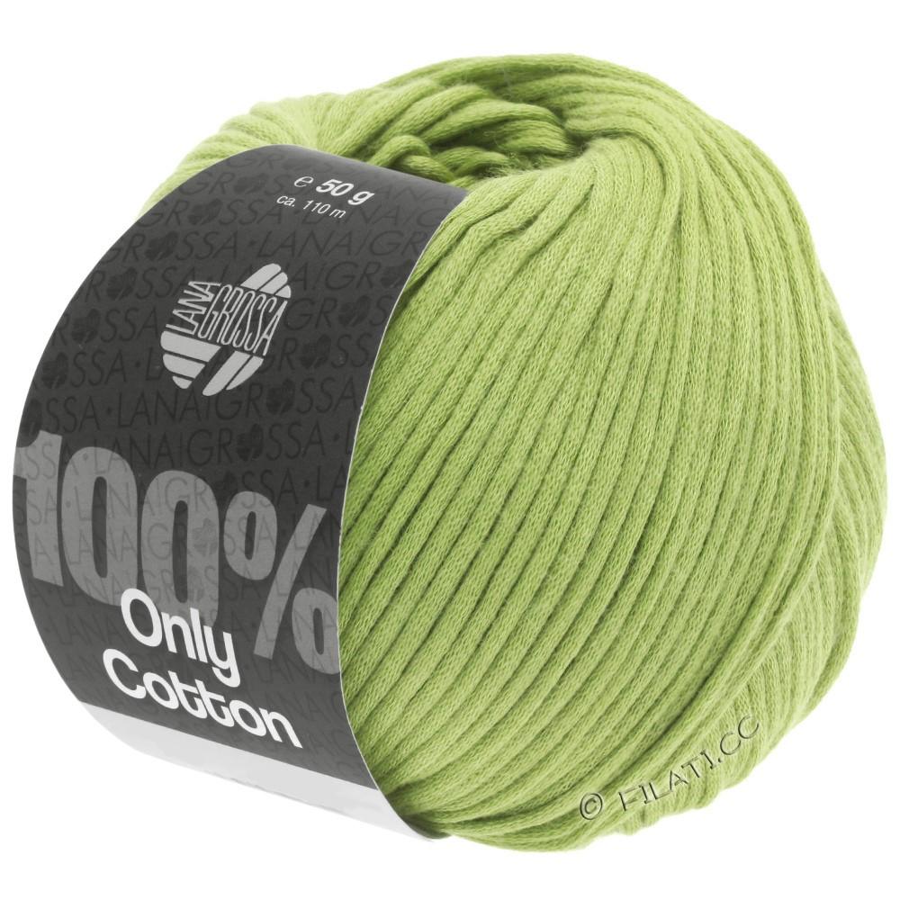 Lana Grossa ONLY COTTON | 23-пастельно-зелёный