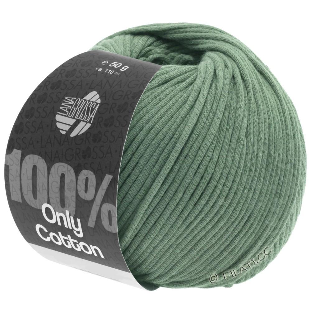Lana Grossa ONLY COTTON | 24-зелёный