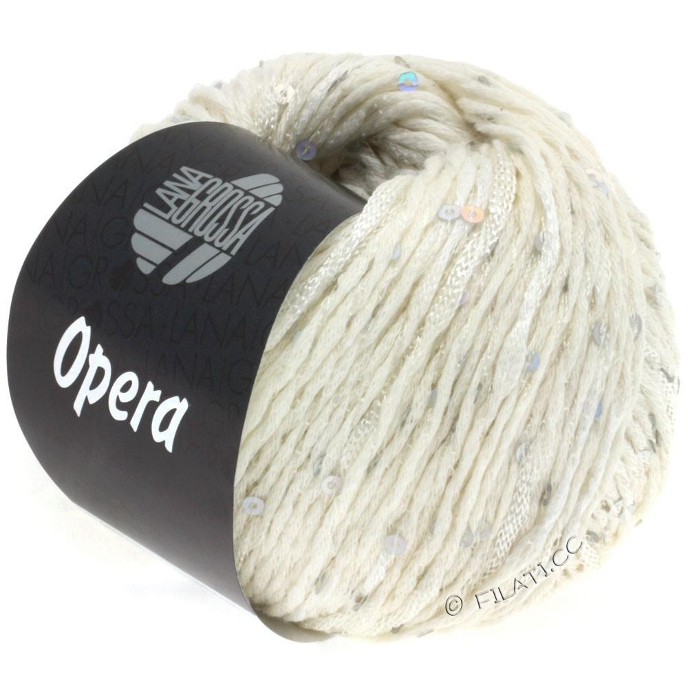 Lana Grossa OPERA | 01-чисто-белый
