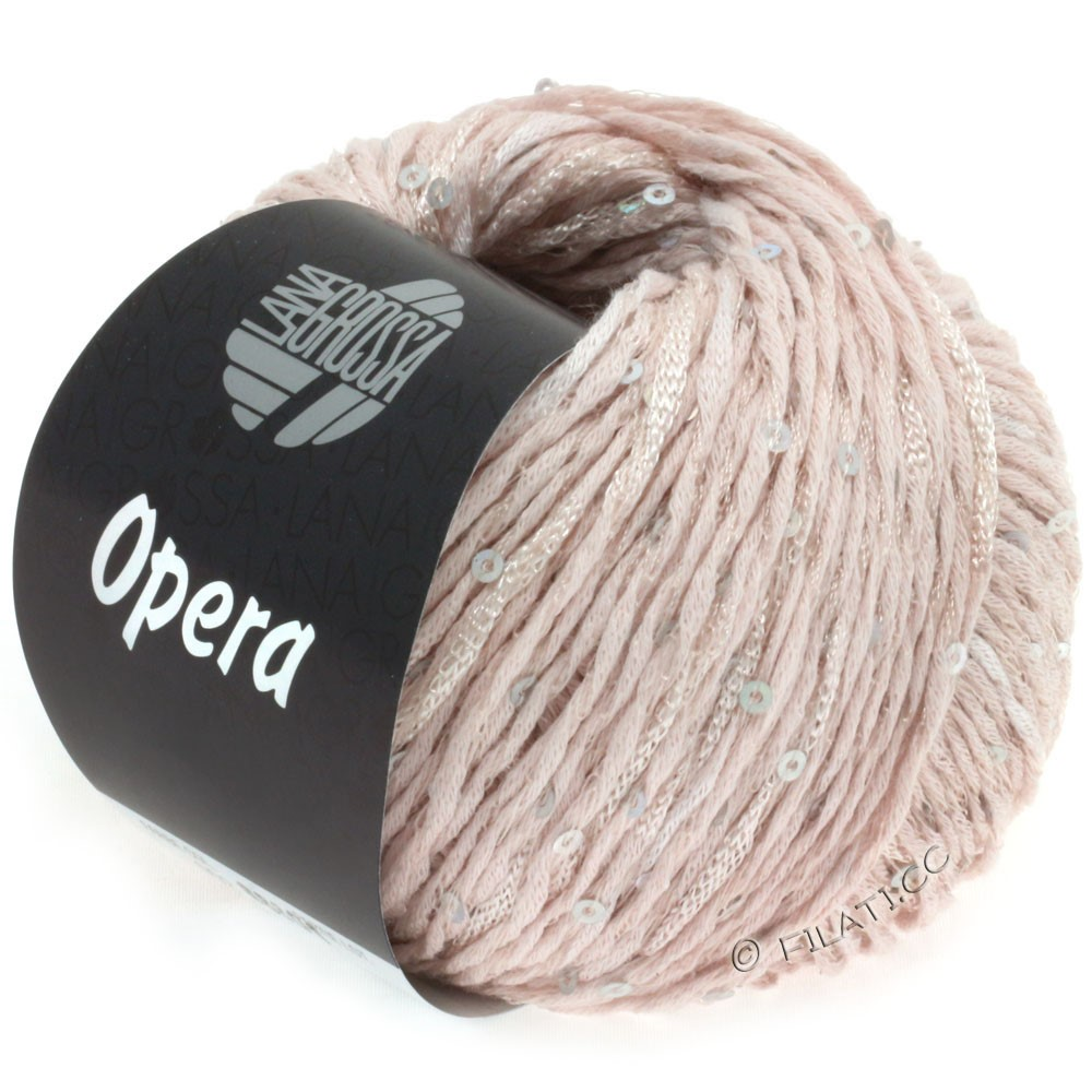 Lana Grossa OPERA | 02-мягко-розовый