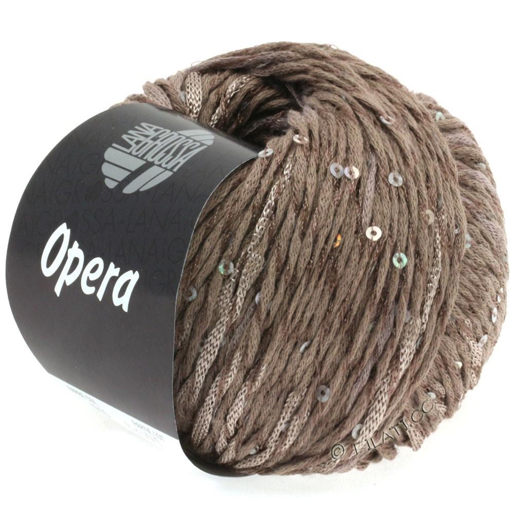 Lana Grossa OPERA | 10-серо-коричневый