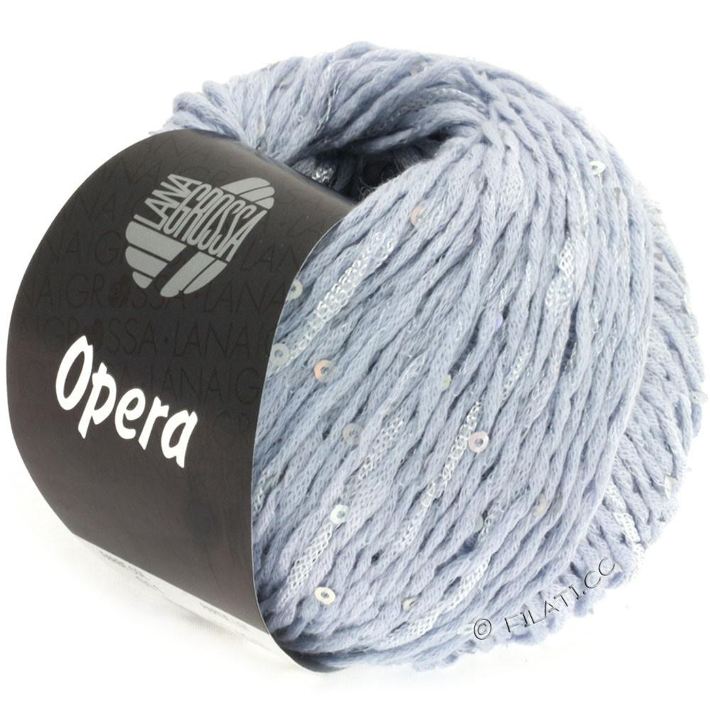 Lana Grossa OPERA | 11-мягко-синий