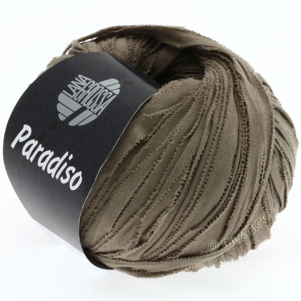 Lana Grossa PARADISO Uni/Print | 009-серо-коричневый