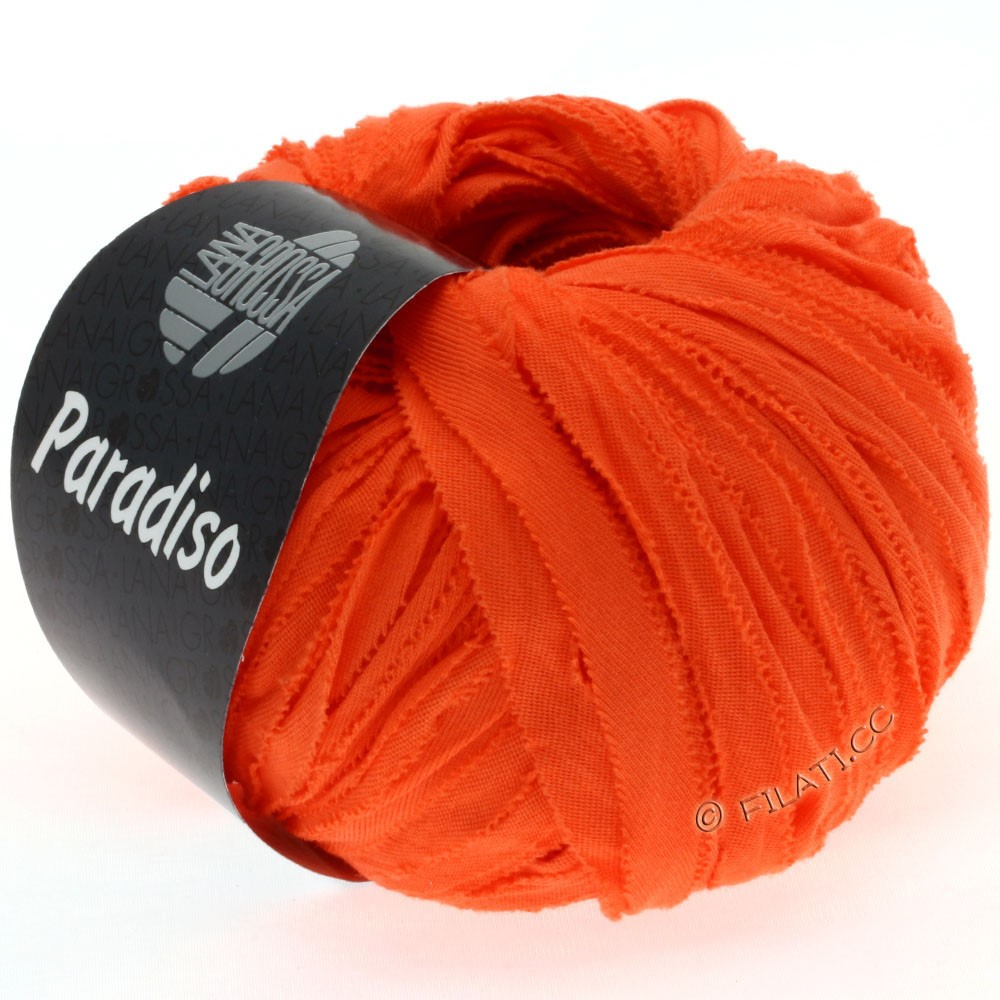 Lana Grossa PARADISO Uni/Print | 023-оранжевый
