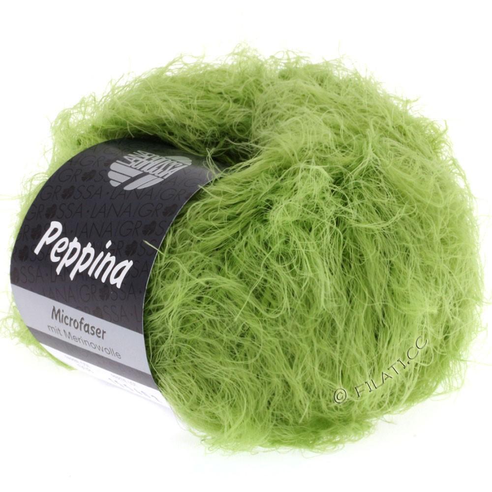 Lana Grossa PEPPINA | 08-светло-зелёный