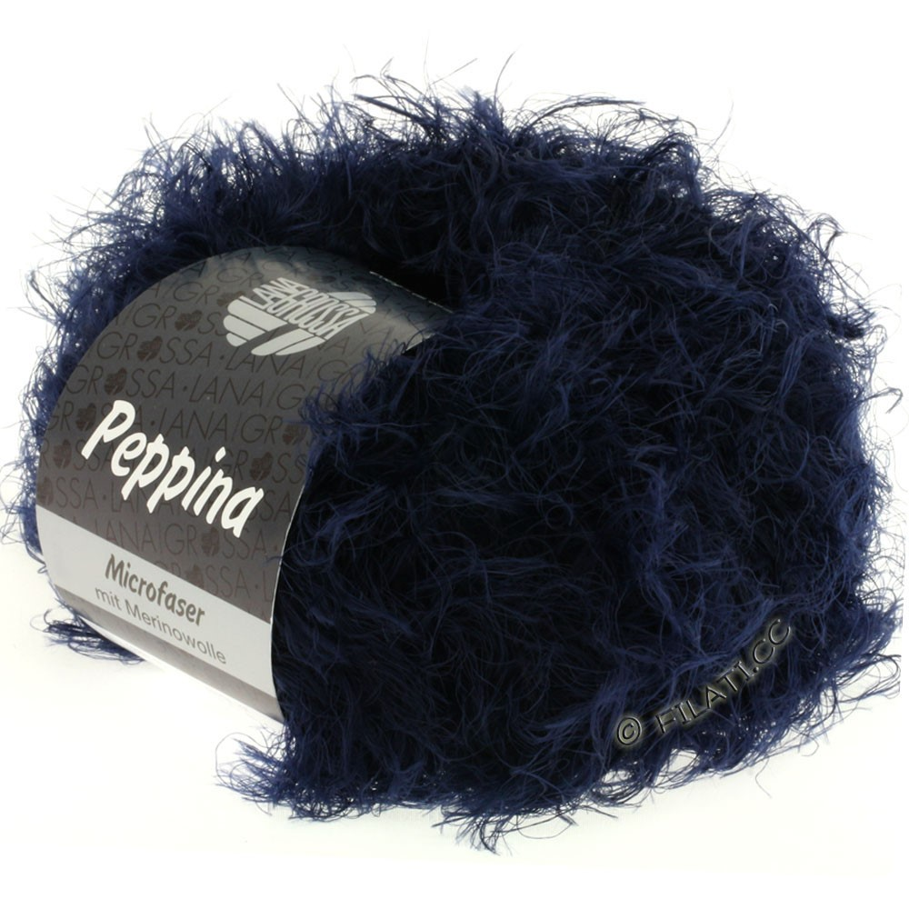 Lana Grossa PEPPINA | 11-тёмно-синий