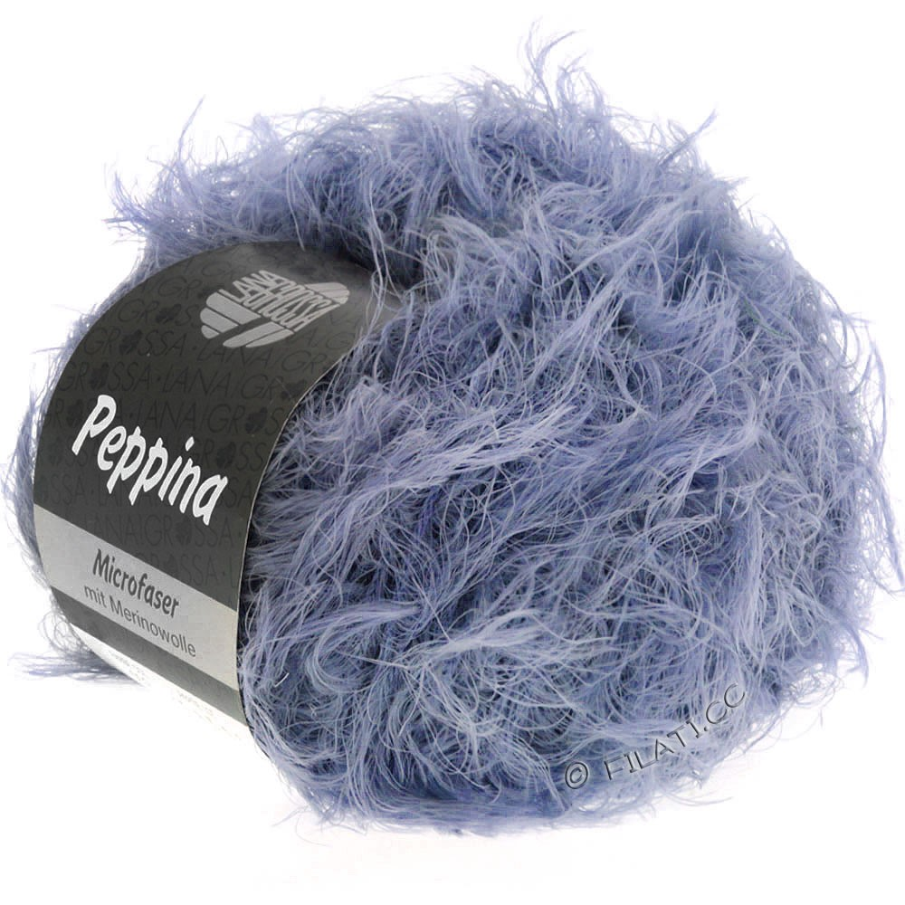 Lana Grossa PEPPINA | 21-серо-фиолетовый