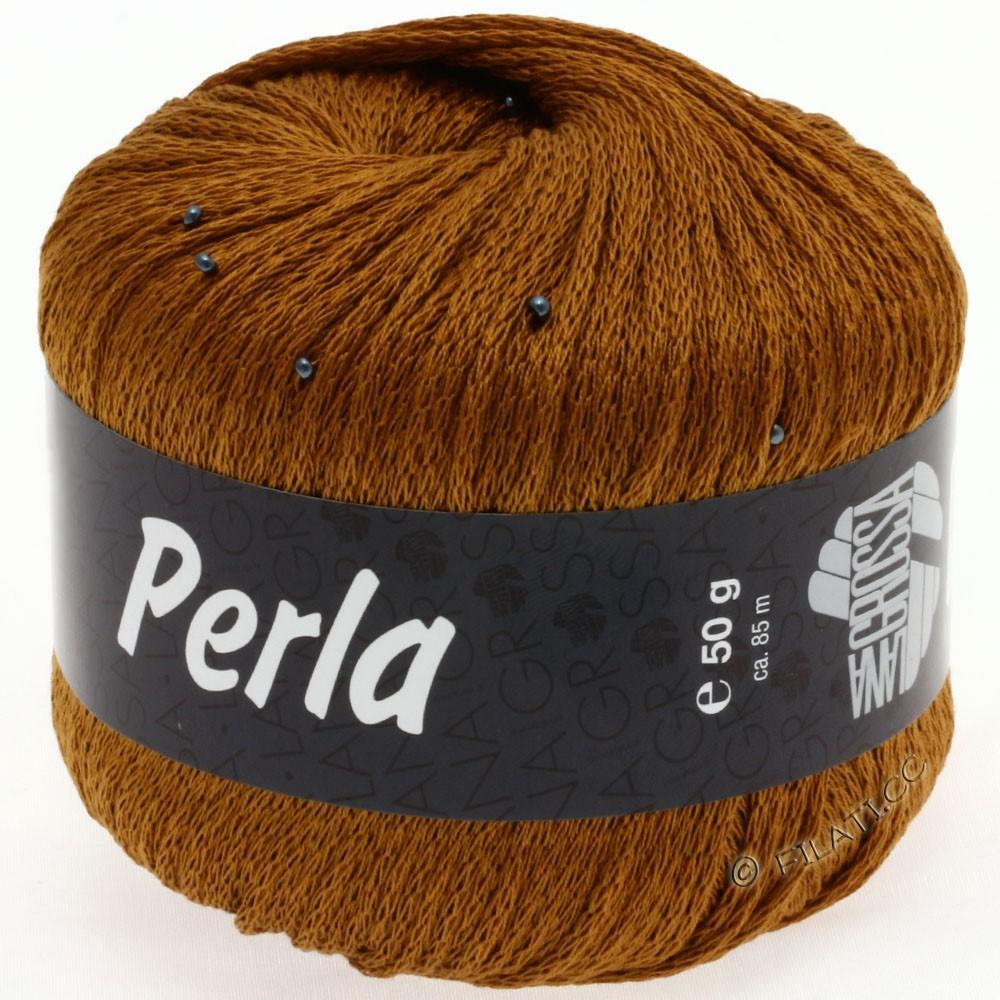 Lana Grossa PERLA | 03-золотисто-коричневый
