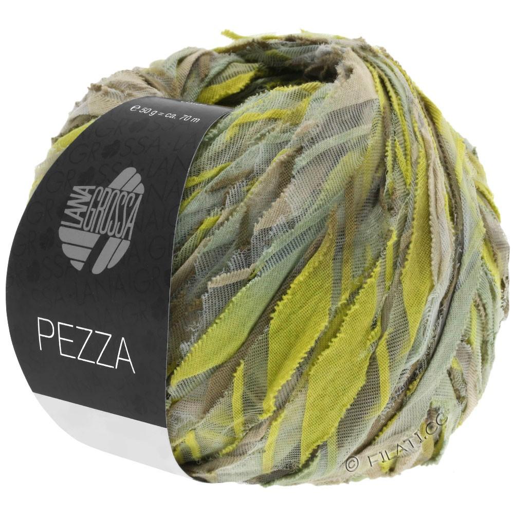 Lana Grossa PEZZA | 02-бежевый/зеленовато-желтый/хаки/тростник