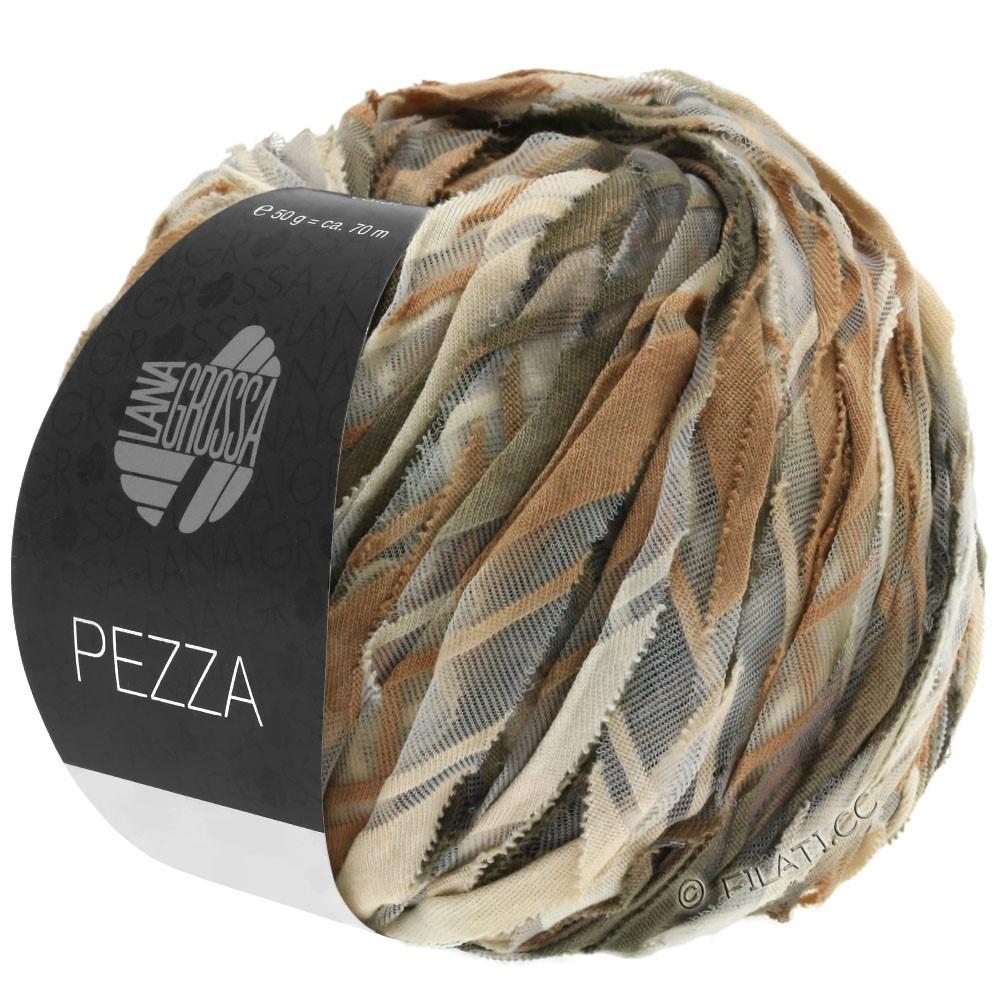 Lana Grossa PEZZA | 08-бежевый/легко коричневый/серо-коричневый/серо-коричневый
