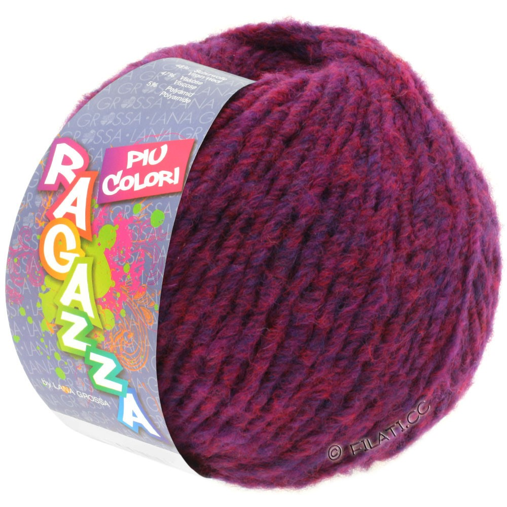 Lana Grossa PIU COLORI (Ragazza) | 05-фиолетовый меланжевый
