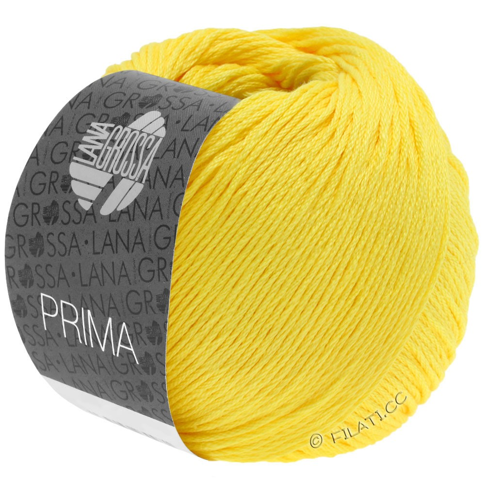Lana Grossa PRIMA | 21-жёлтый