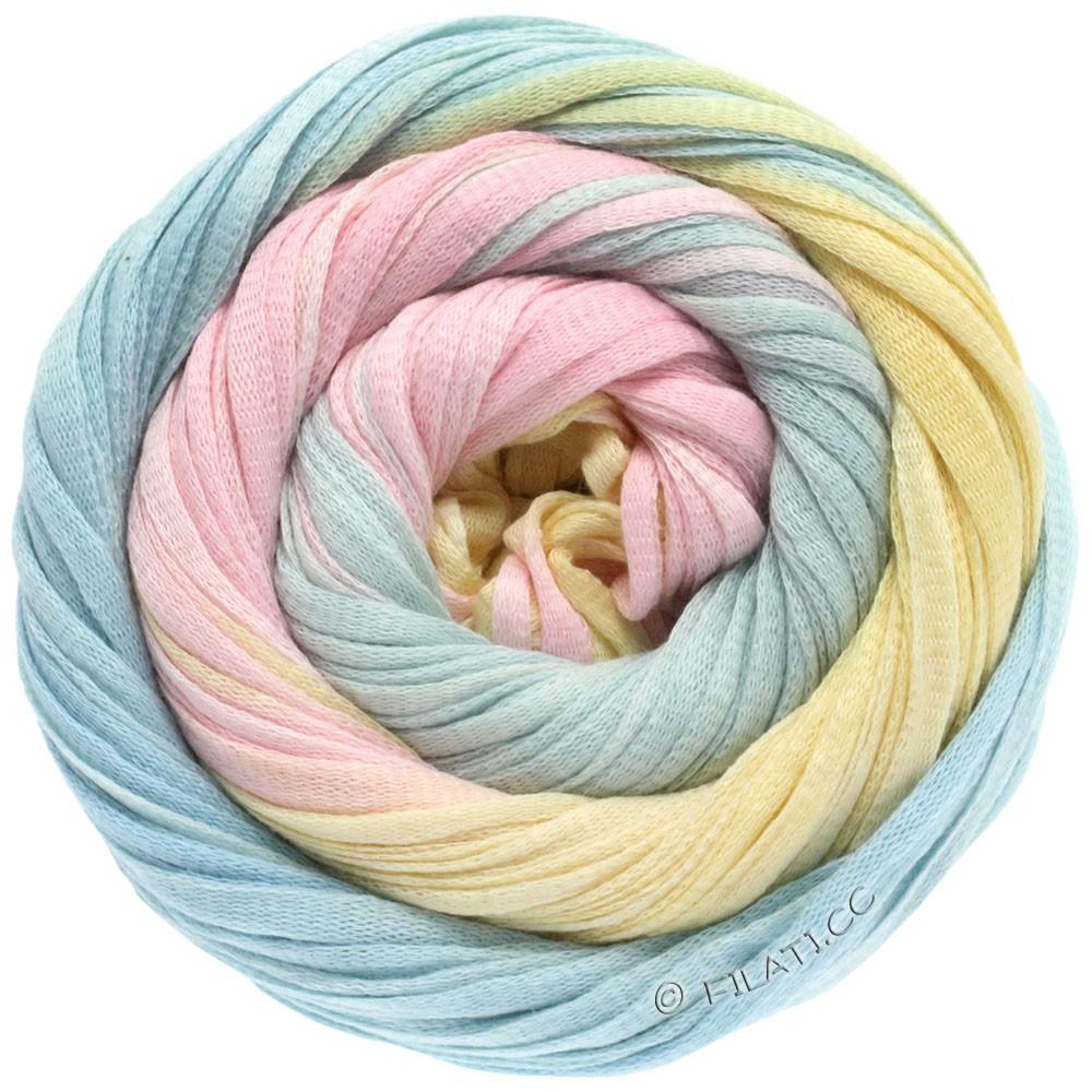 Lana Grossa PRIMAVERA | 108-розовый/зеленовато-голубой/ванильный/мята