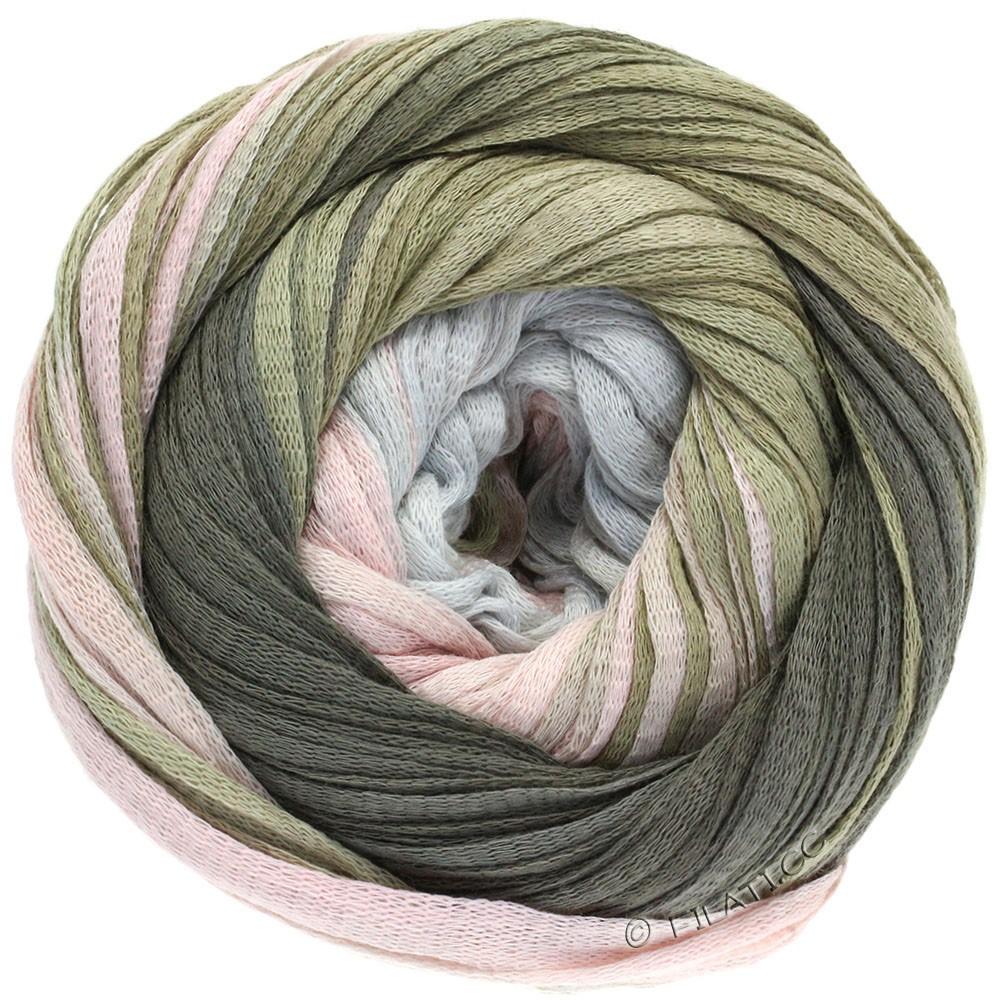 Lana Grossa PRIMAVERA | 111-светло-серый/розовый/серо-коричневый/серо-коричневый