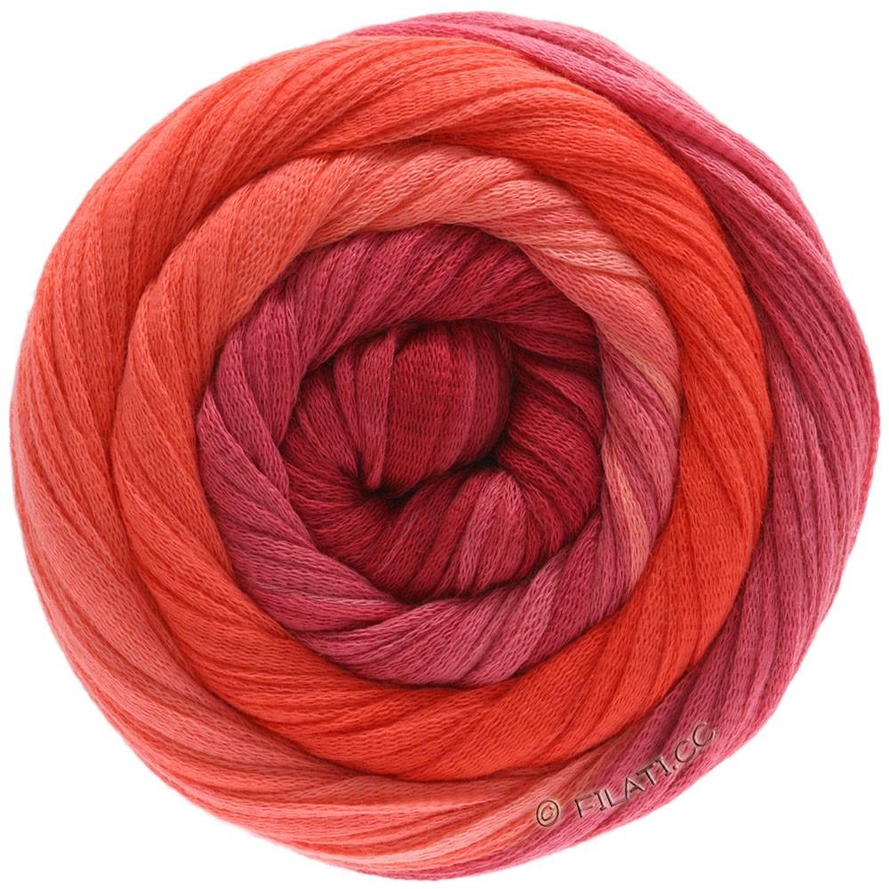Lana Grossa PRIMAVERA | 206-лососевый/коралловый/красный