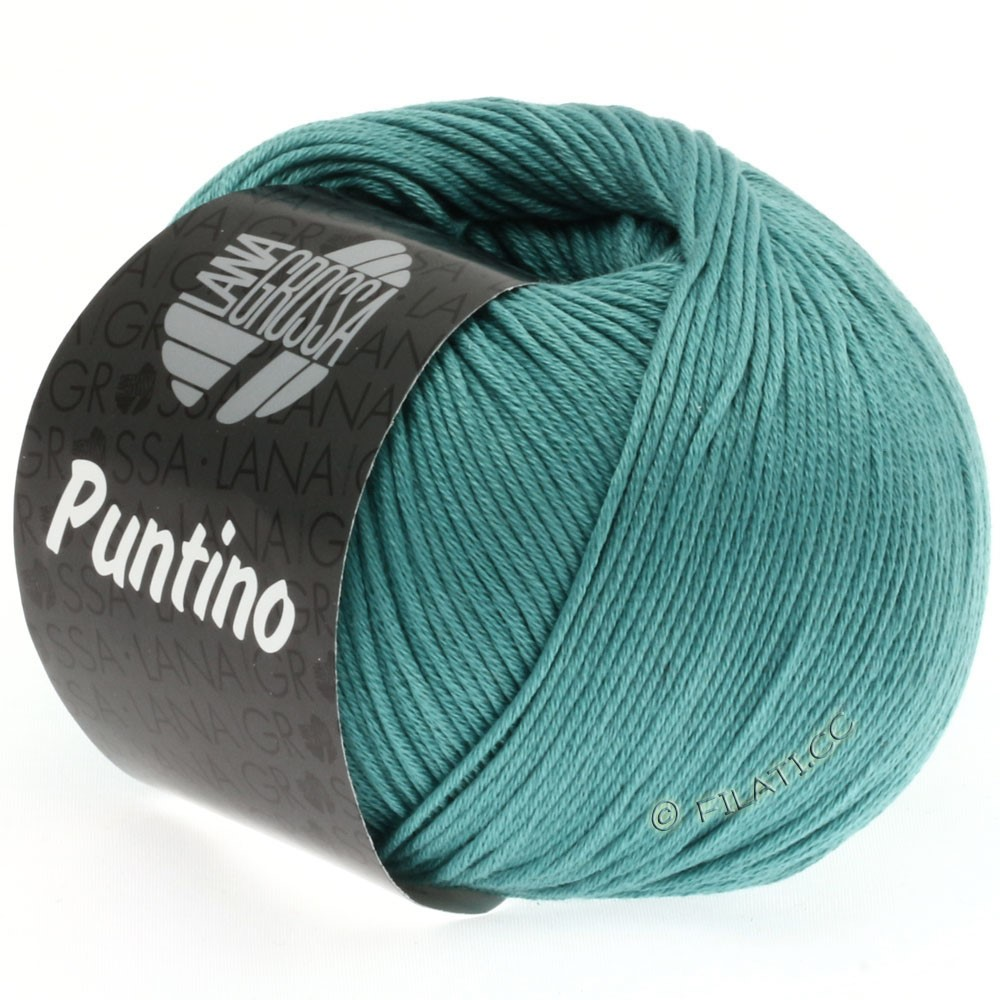 Lana Grossa PUNTINO | 34-зеленовато-голубой