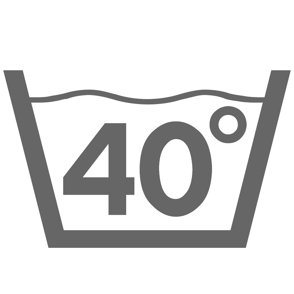Стирка при 40°C