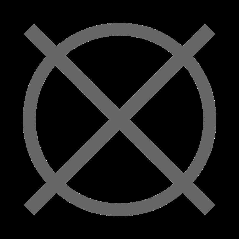 Химическая чистка запрещена
