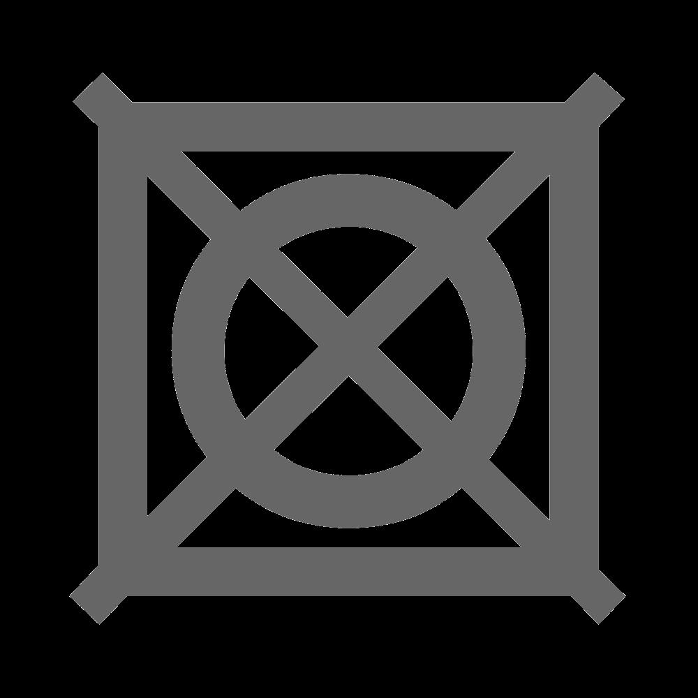 Запрещена сушка в сушилке для белья