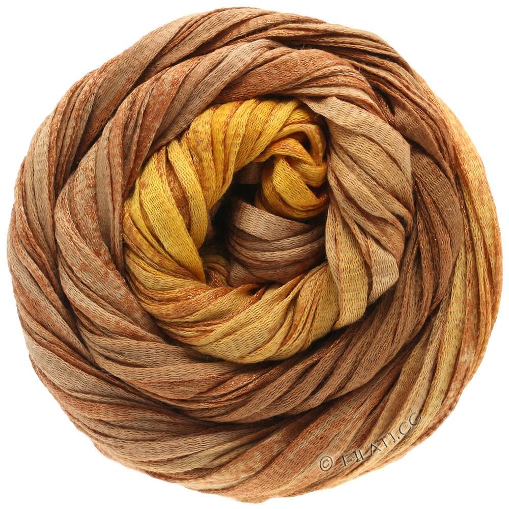 Lana Grossa ROMA Degradé | 308-золотисто-коричневый/коричневый цвет корицы/медь
