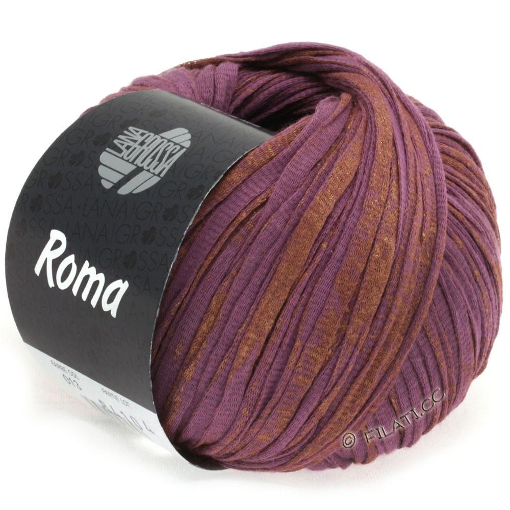Lana Grossa ROMA | 013-пурпурный/медь