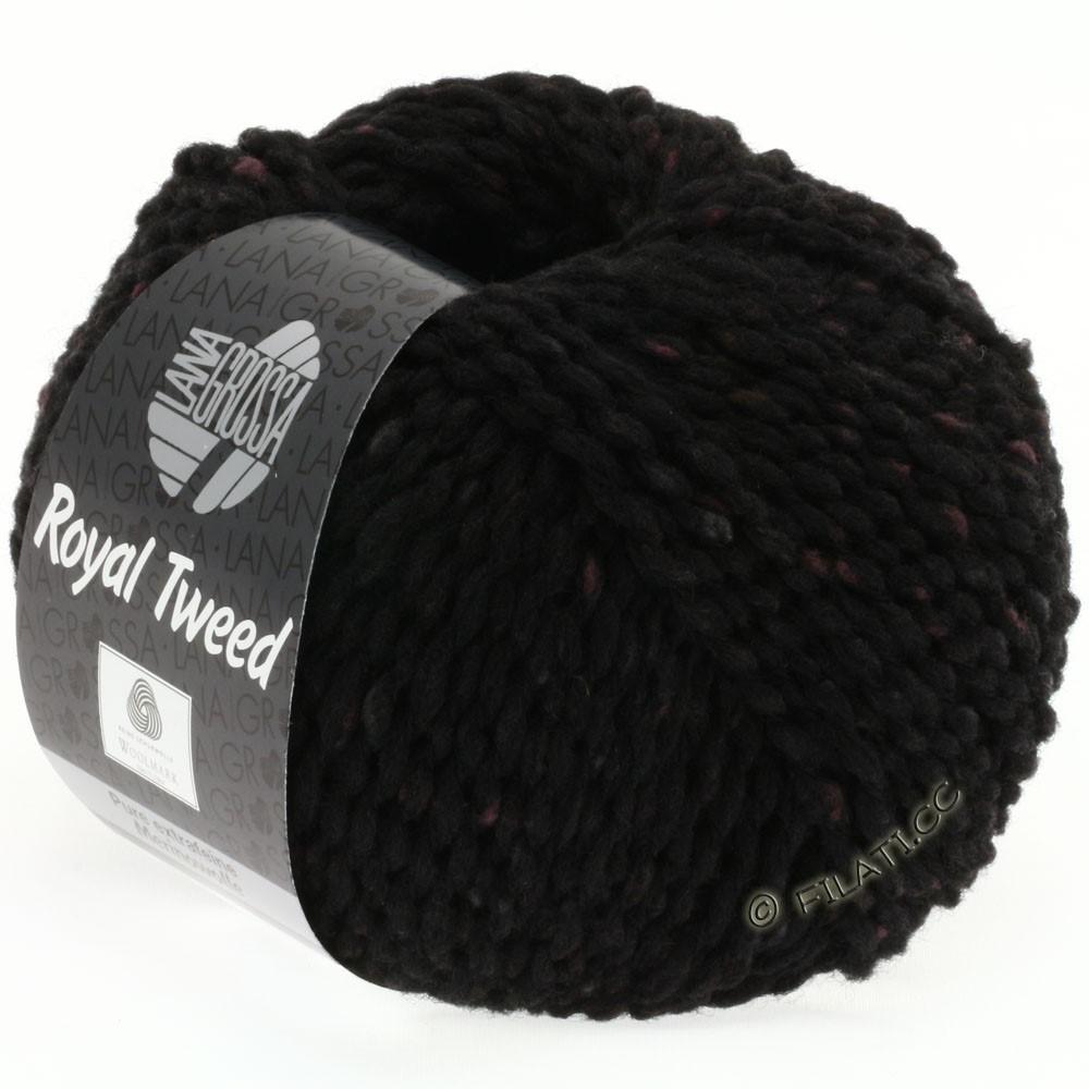 Lana Grossa ROYAL TWEED (королевский твид) | 20-чёрный