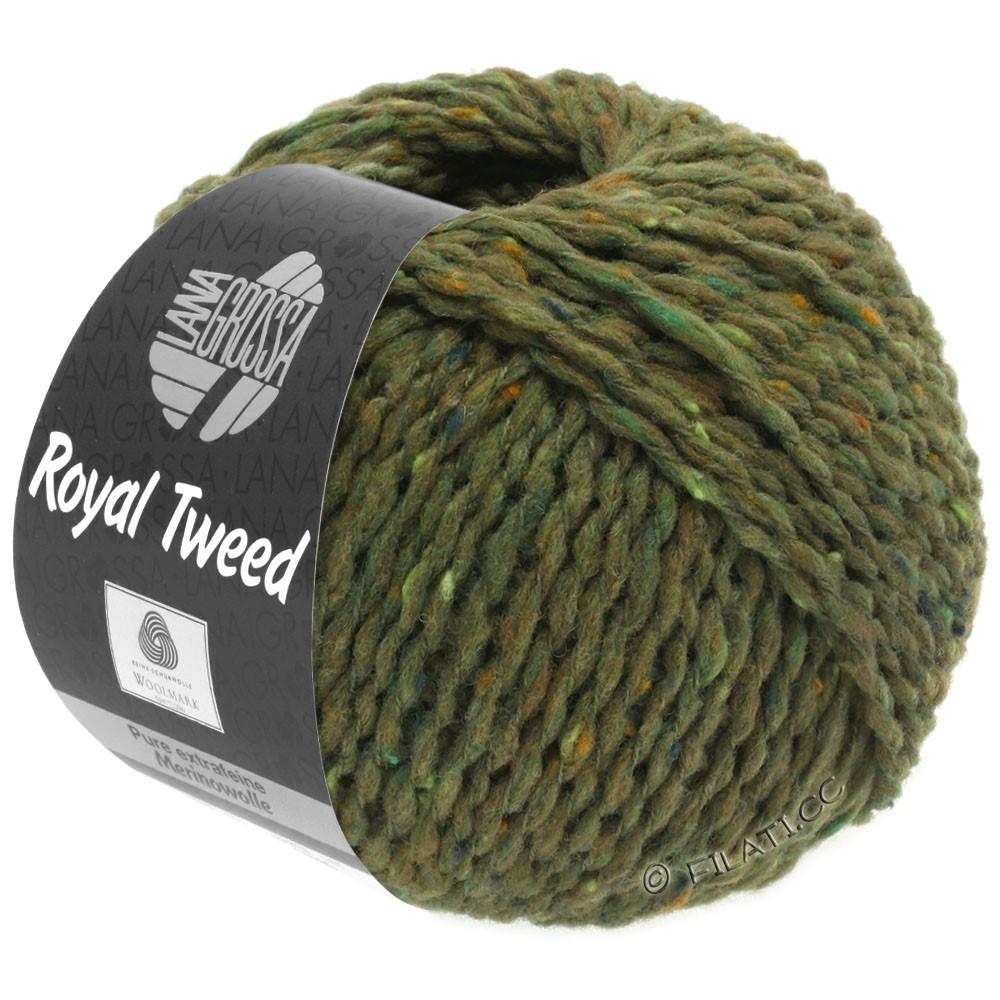 Lana Grossa ROYAL TWEED (королевский твид) | 69-оливковый меланжевый