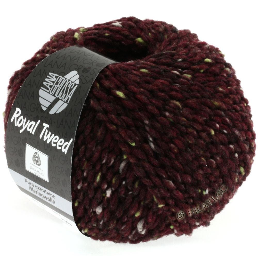 Lana Grossa ROYAL TWEED (королевский твид) | 71-бургунд меланжевый