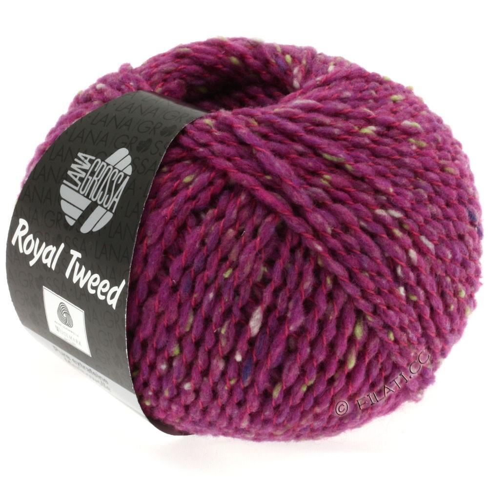 Lana Grossa ROYAL TWEED (королевский твид) | 79-цикламеновый меланжевый