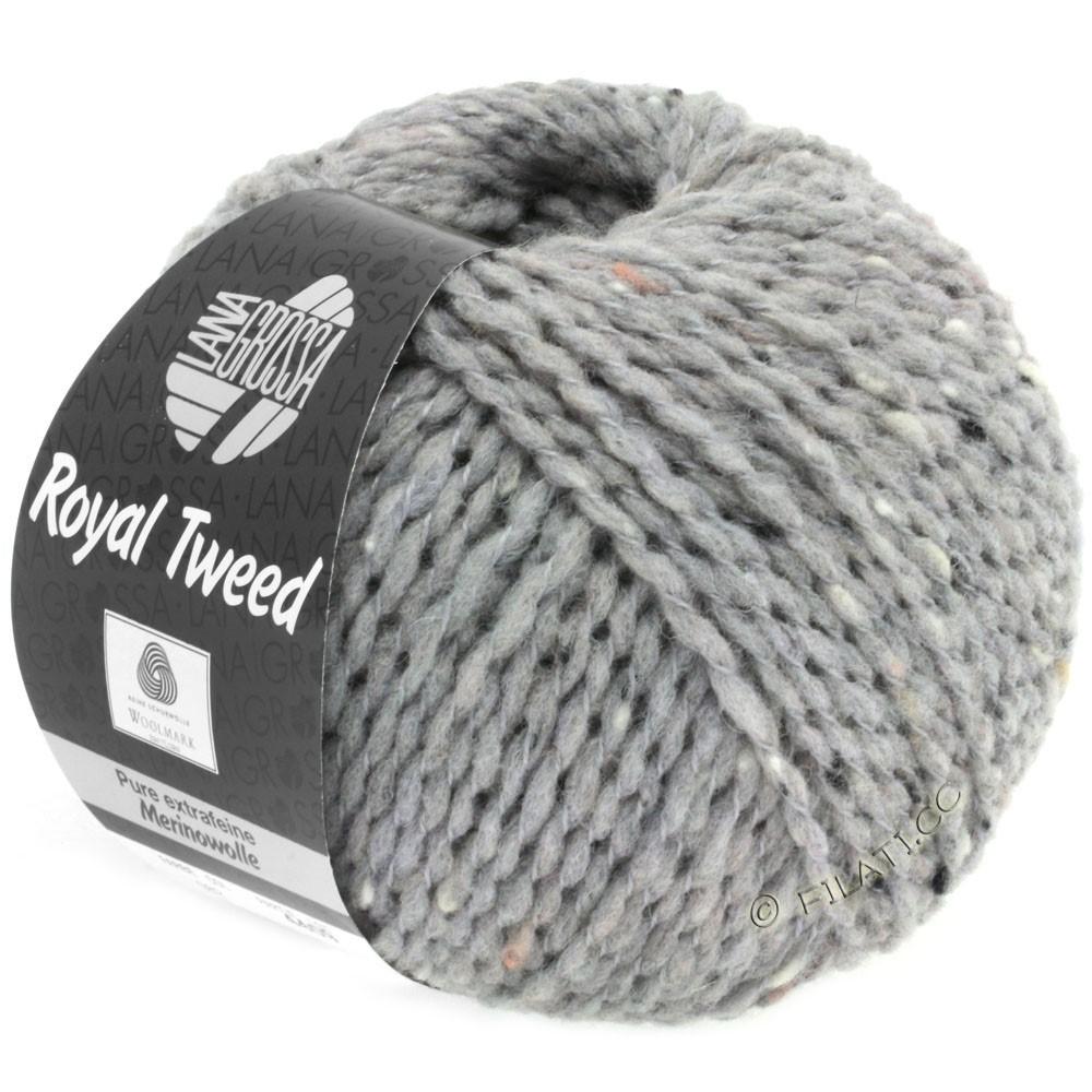Lana Grossa ROYAL TWEED (королевский твид) | 82-светло-серый меланжевый