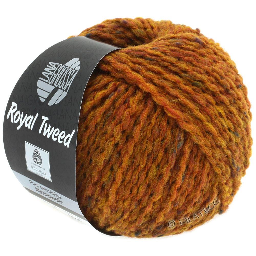 Lana Grossa ROYAL TWEED (королевский твид) | 86-золотисто-коричневый меланжевый