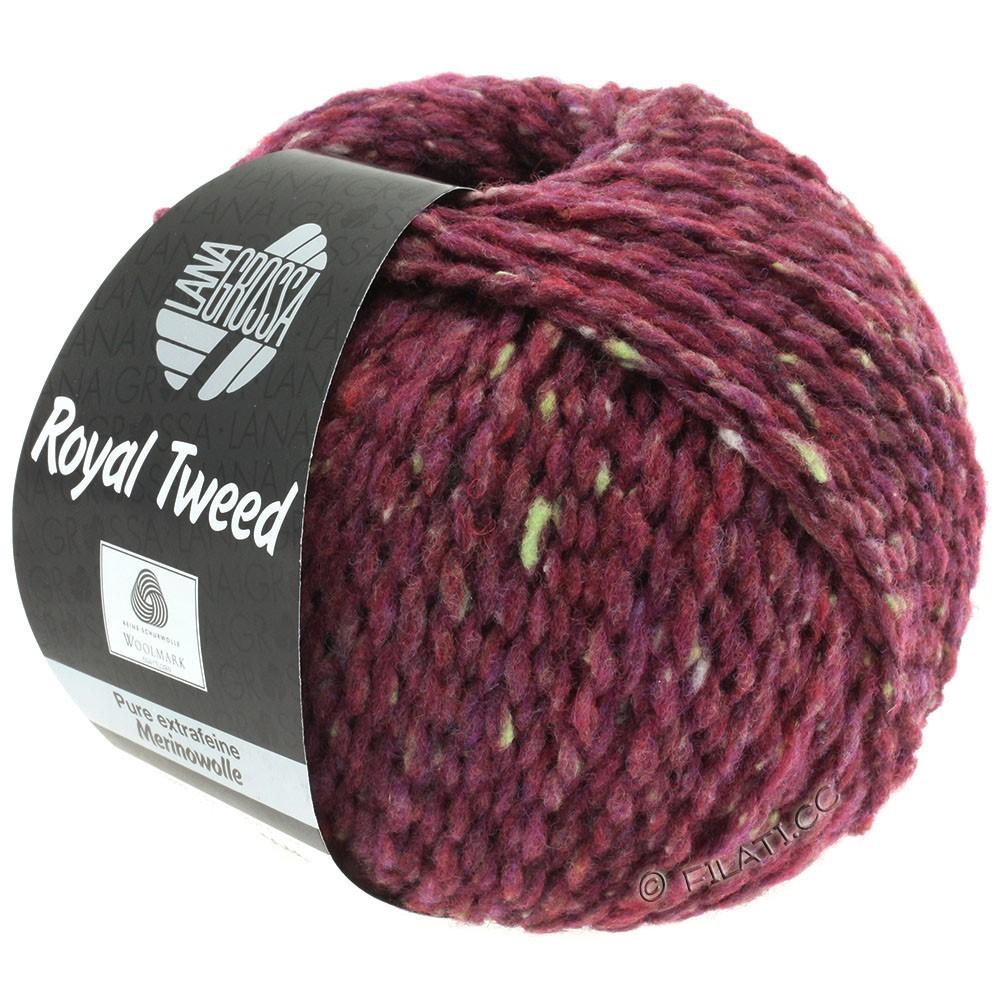 Lana Grossa ROYAL TWEED (королевский твид) | 87-бордо меланжевый
