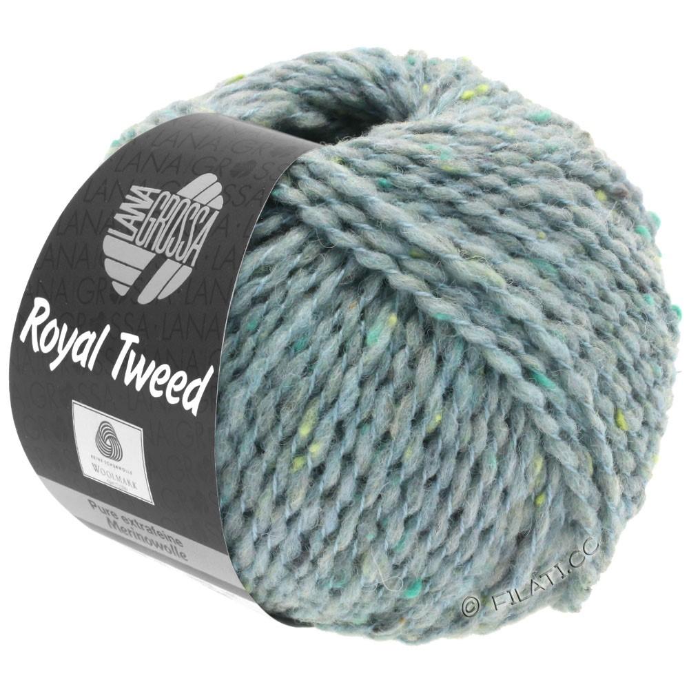 Lana Grossa ROYAL TWEED (королевский твид) | 89-серо-голубой меланжевый
