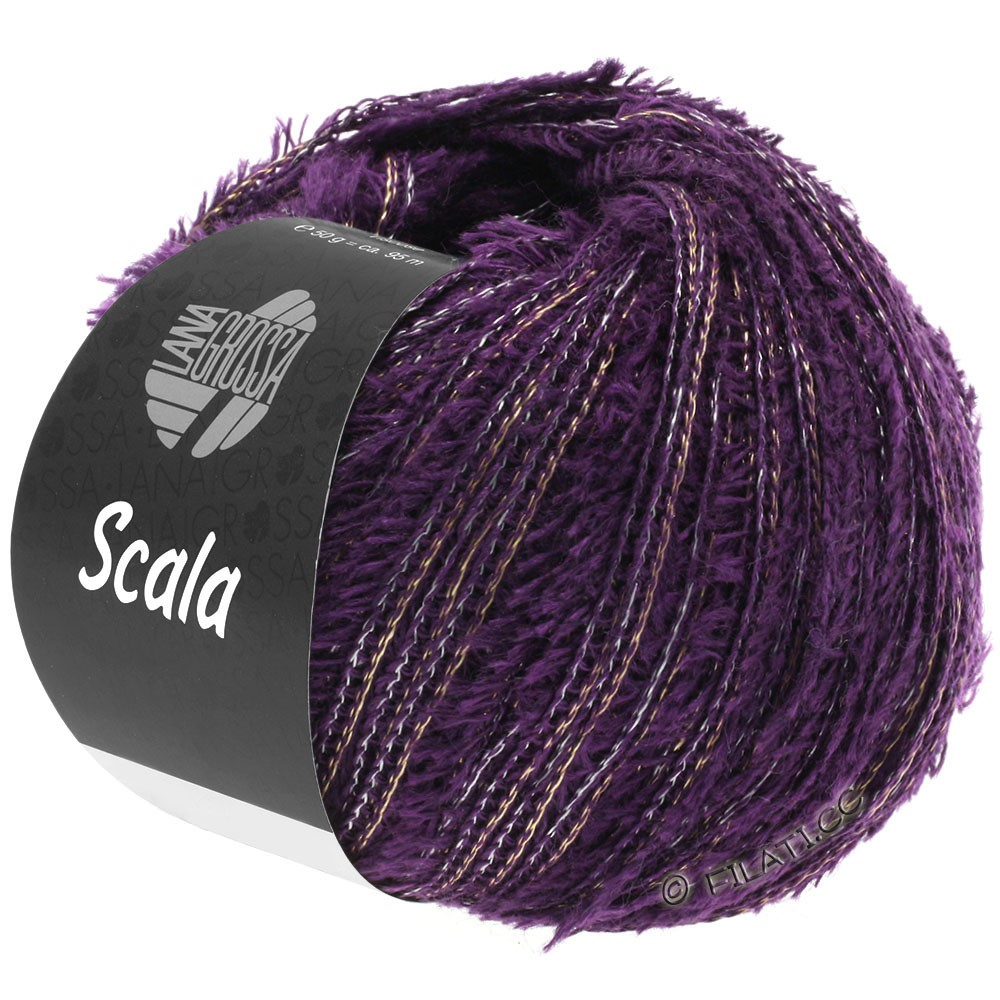 Lana Grossa SCALA | 04-тёмно-фиолетовый