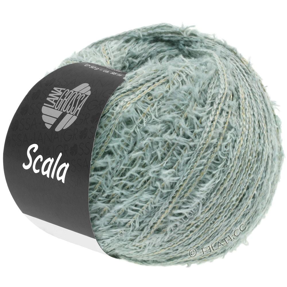 Lana Grossa SCALA | 06-зеленый серый