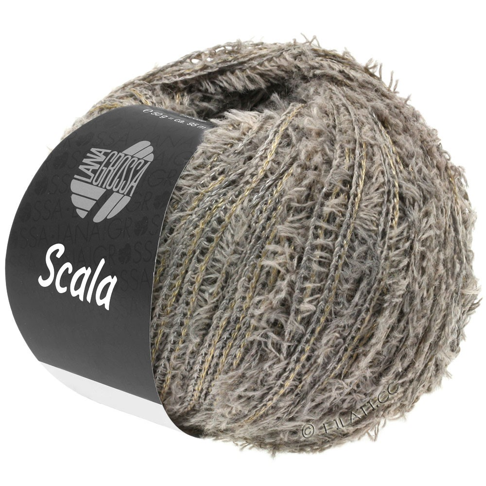Lana Grossa SCALA | 08-серо-коричневый