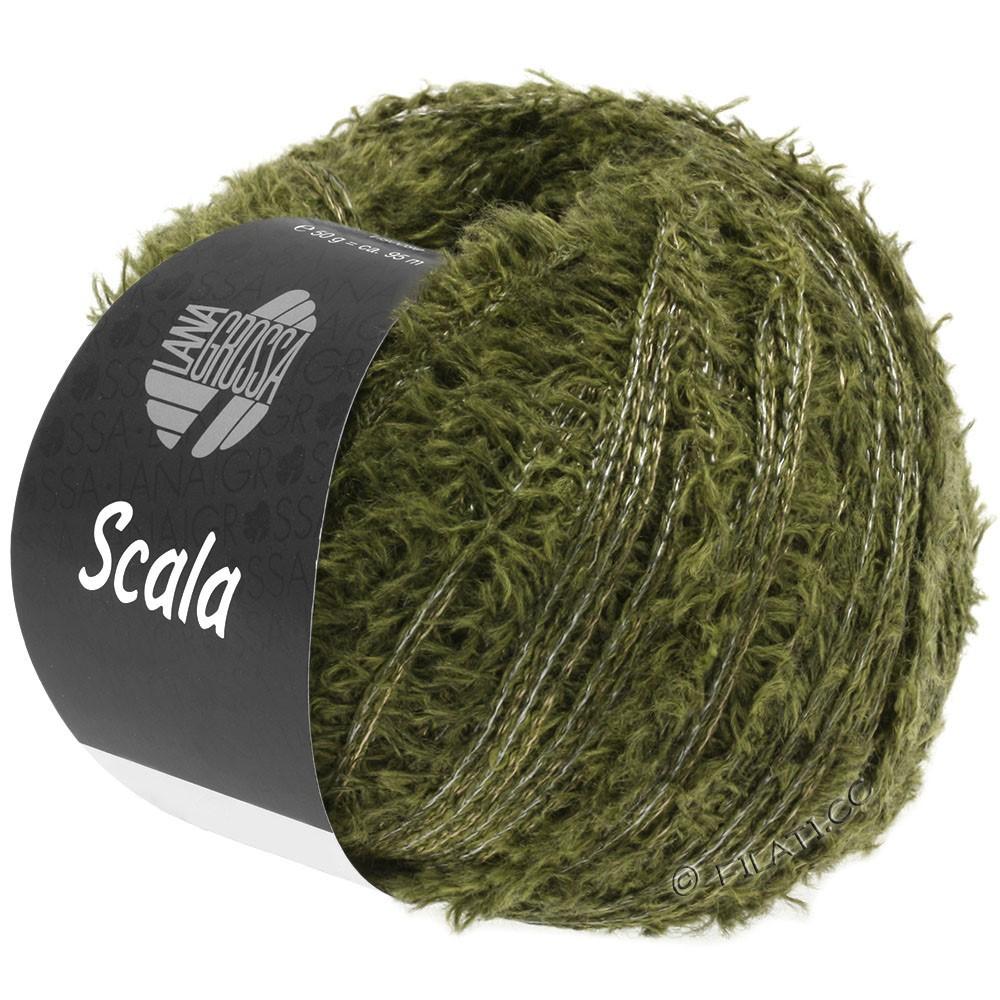 Lana Grossa SCALA | 13-оливково-зелёный